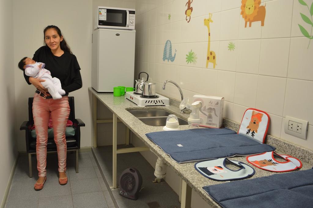 La Municipalidad inauguró su primera sala de lactancia