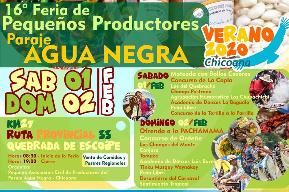 Feria de Pequeños Productores en Chicoana