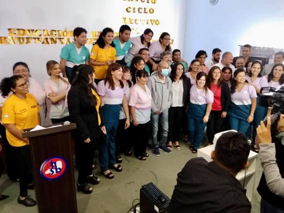 El Instituto Especial N °7215 inició las clases en el hospital San Bernardo