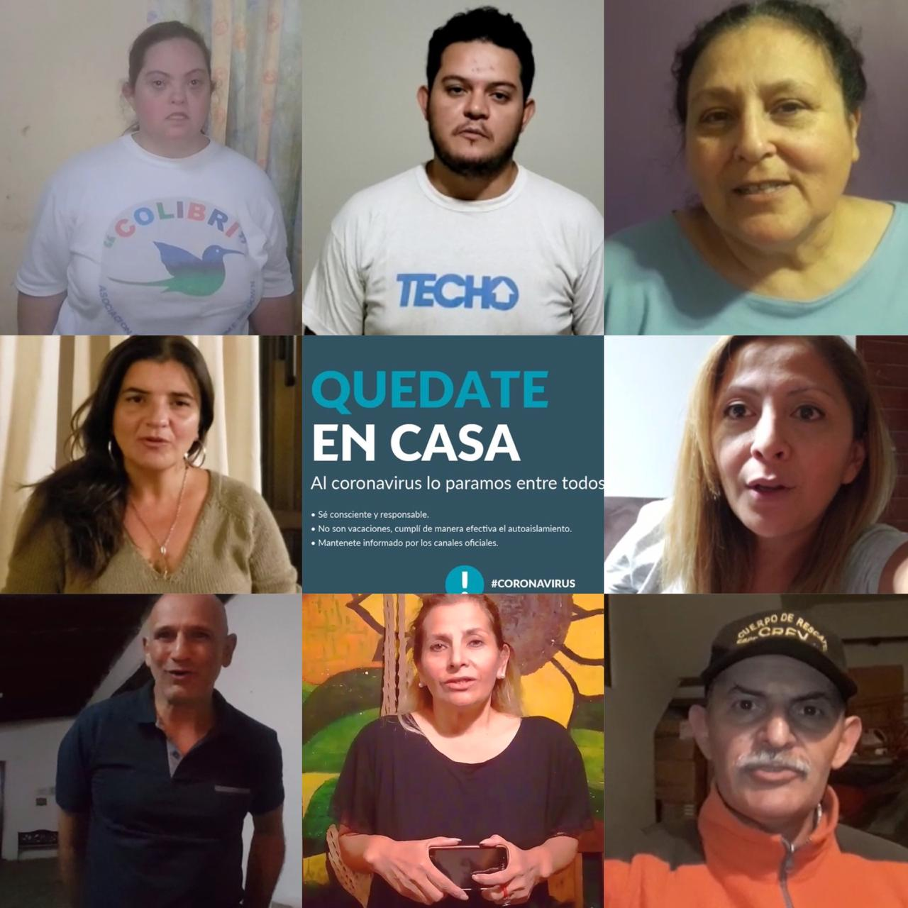 Referentes solidarios de Salta piden a la comunidad quedarse en casa