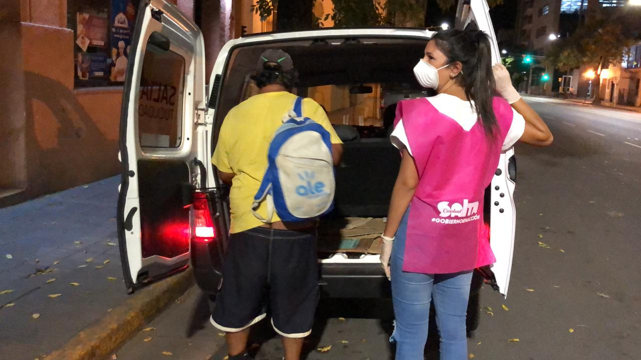La Ciudad habilitó un Refugio Transitorio para albergar a las personas en situación de calle