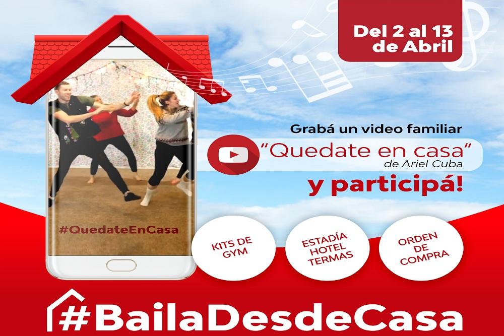La Secretaría de Deportes lanzó #BailáDesdeCasa