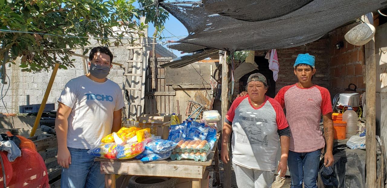 TECHO entregó alimentos a tres comedores en Salta Capital y San Lorenzo