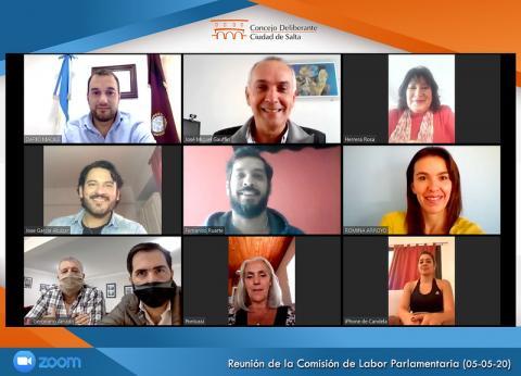 Nueva sesión virtual del Concejo Deliberante de Salta