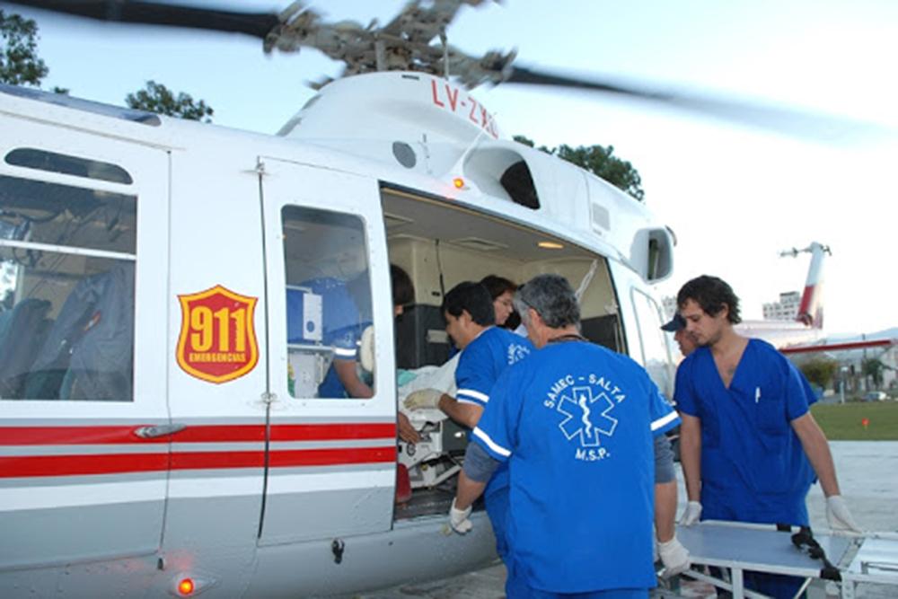 De diciembre a mayo la Provincia efectuó 185 vuelos sanitarios