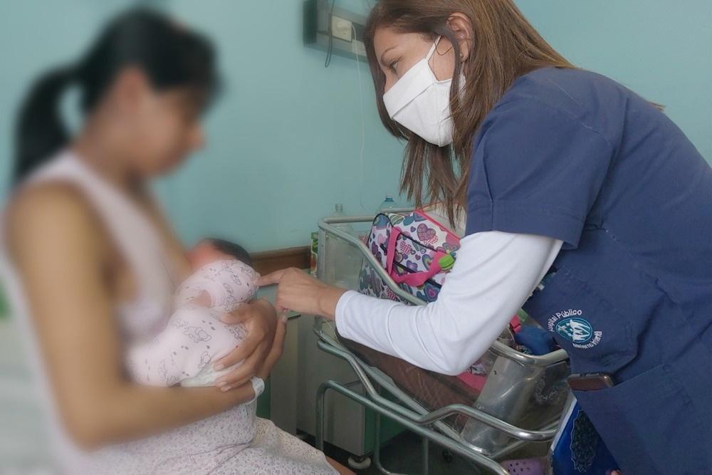 Lactancia: Talleres virtuales del hospital Materno Infantil