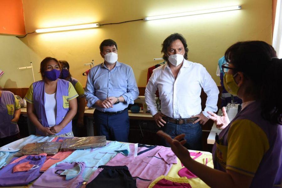 El ministro Arroyo visitó el CPI de Salta