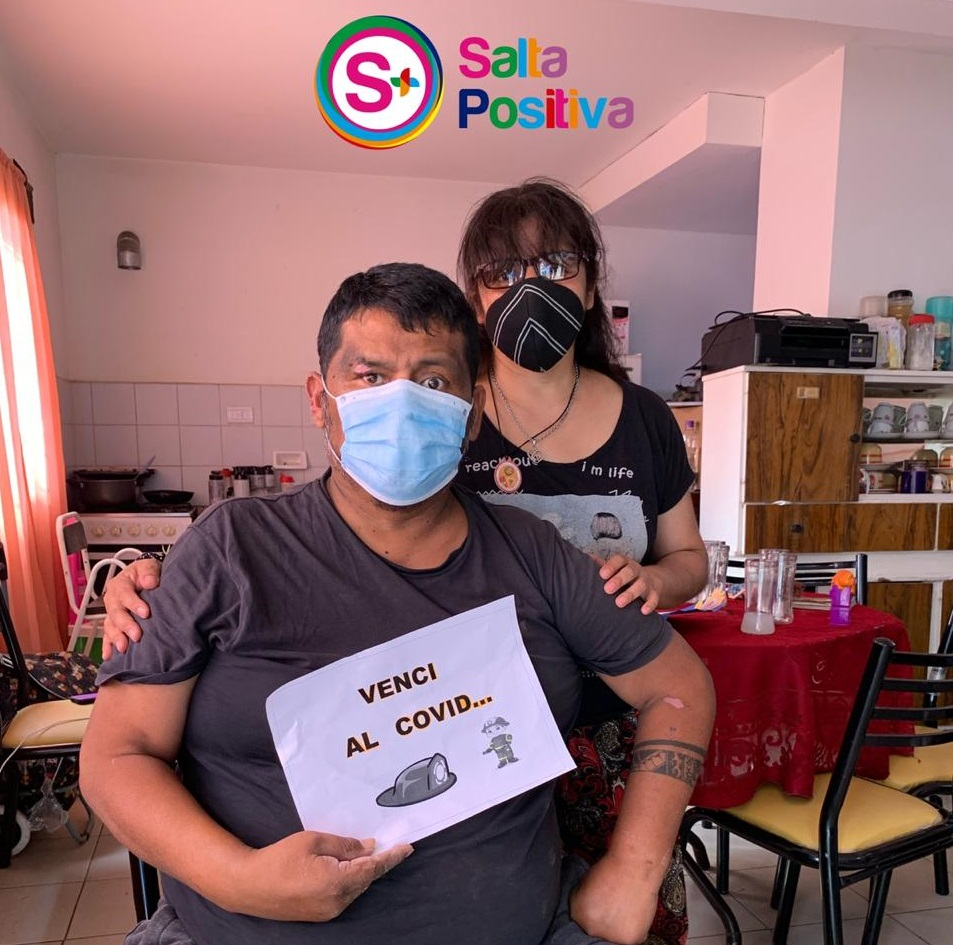 Bombero Voluntario venció al coronavirus