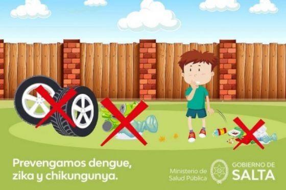 Recomendaciones para prevenir el dengue, zika y chikungunya