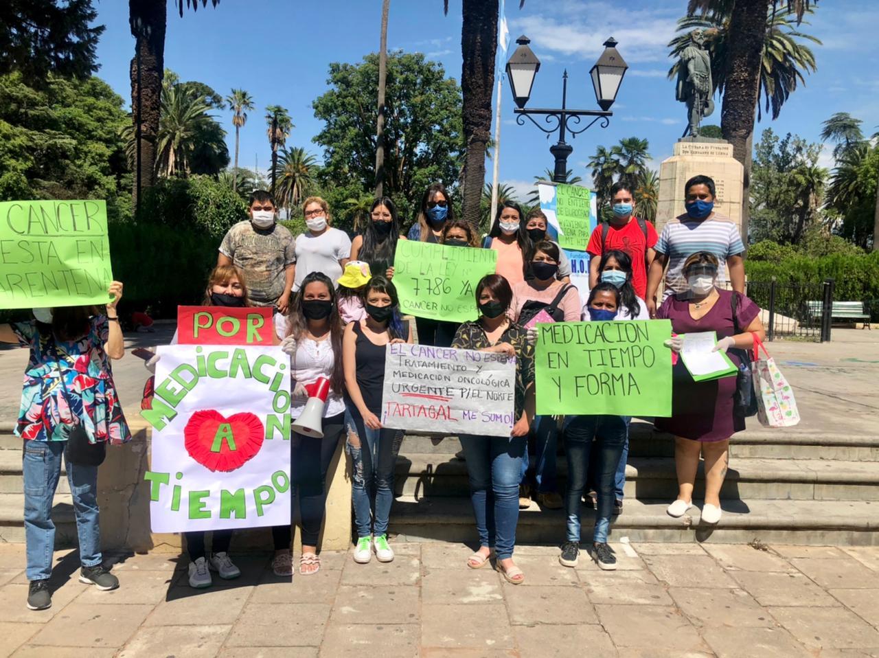 Familiares de Pacientes Oncológicos piden al Gobierno de Salta el cumplimiento de la Ley Provincial 7786