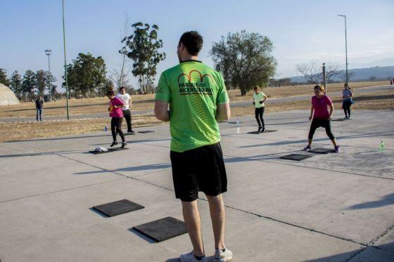 Actividades deportivas y recreativas en los Parques Urbanos