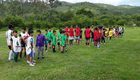 Integración de niños y niñas de La Caldera