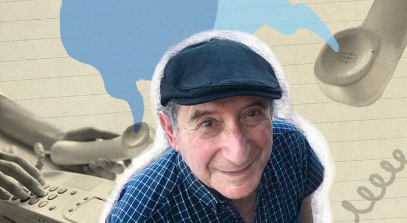 Los 500 llamados de Oscar, el hombre de 81 años que habla por teléfono con adultos mayores que viven solos