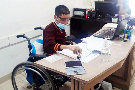 El programa  Incluir Salud incorporó a los dos primeros beneficiarios con discapacidad
