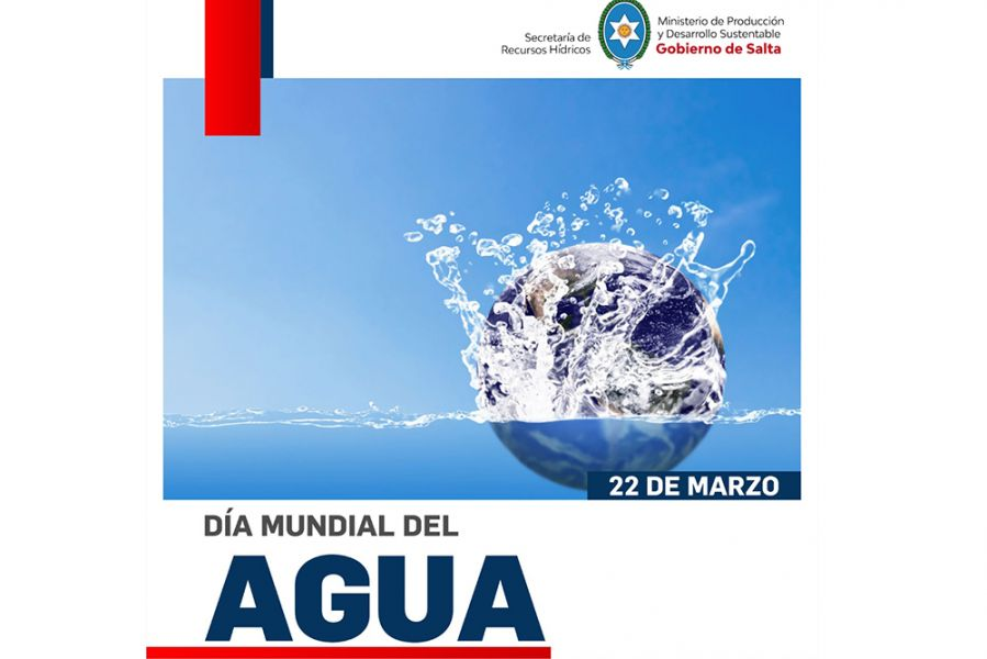 Hoy se conmemora el Día Mundial del Agua