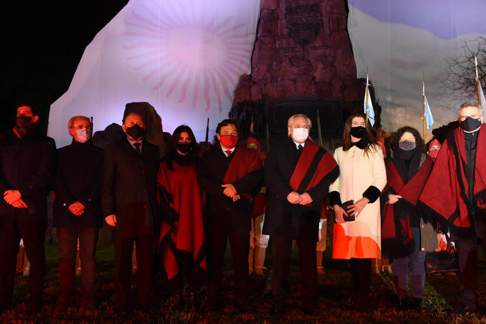 El presidente Alberto Fernández visitó Salta para rendir honor a Güemes
