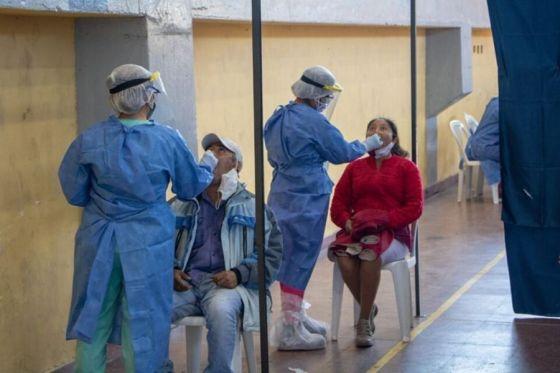 En la ciudad de Salta funcionan ocho centros de testeo
