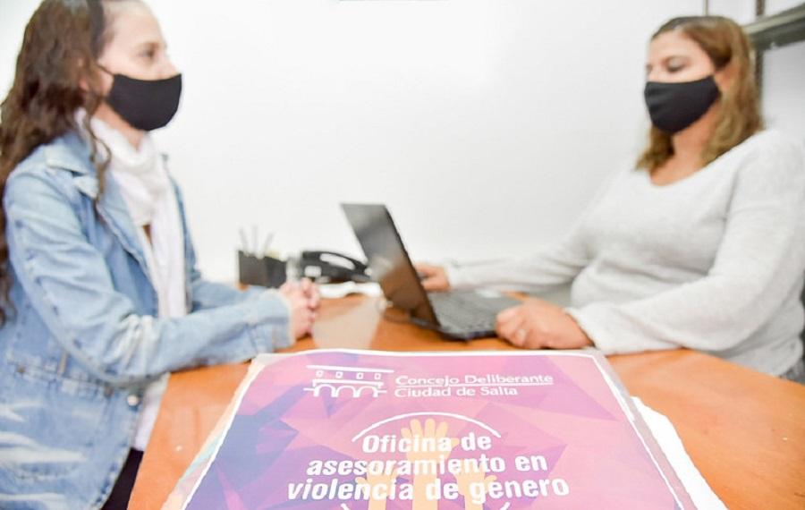 Mujeres en situación de violencia de género pueden  acceder a asesoramiento jurídico y psicológico en el CD