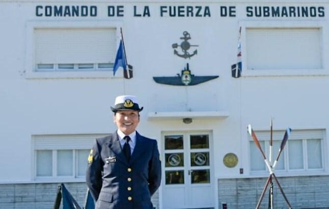 #OrgullloSalteño: La Cabo Principal Alejandra García presta servicios en el Comando de la Fuerza de Submarinos