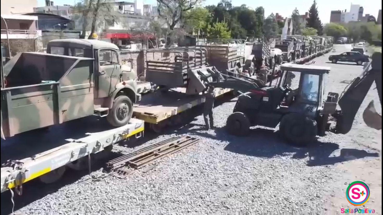 Gran despliegue del Ejército Argentino a Jujuy