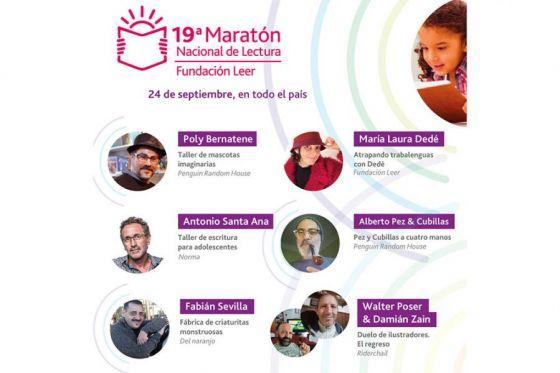 Educación invita a participar de la 19º Maratón Nacional de la Lectura