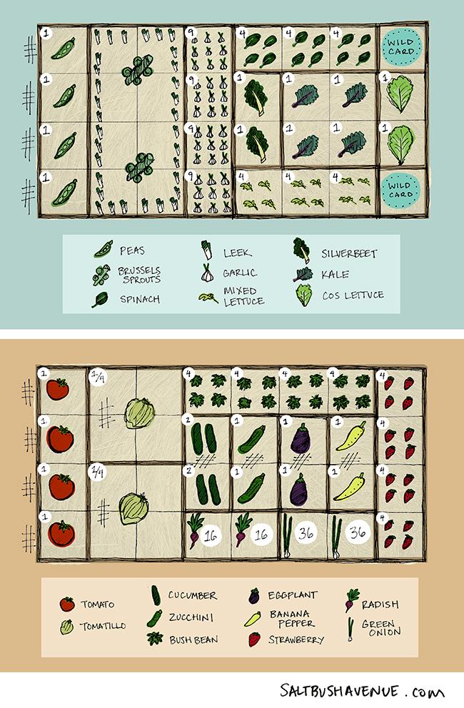 square foot garden planning