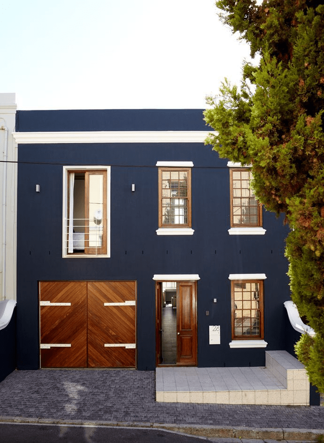 Historic facade in Cape Town