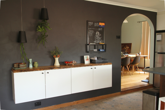 DIY Floating Buffet (with or without IKEA) | Saltbush Avenue
