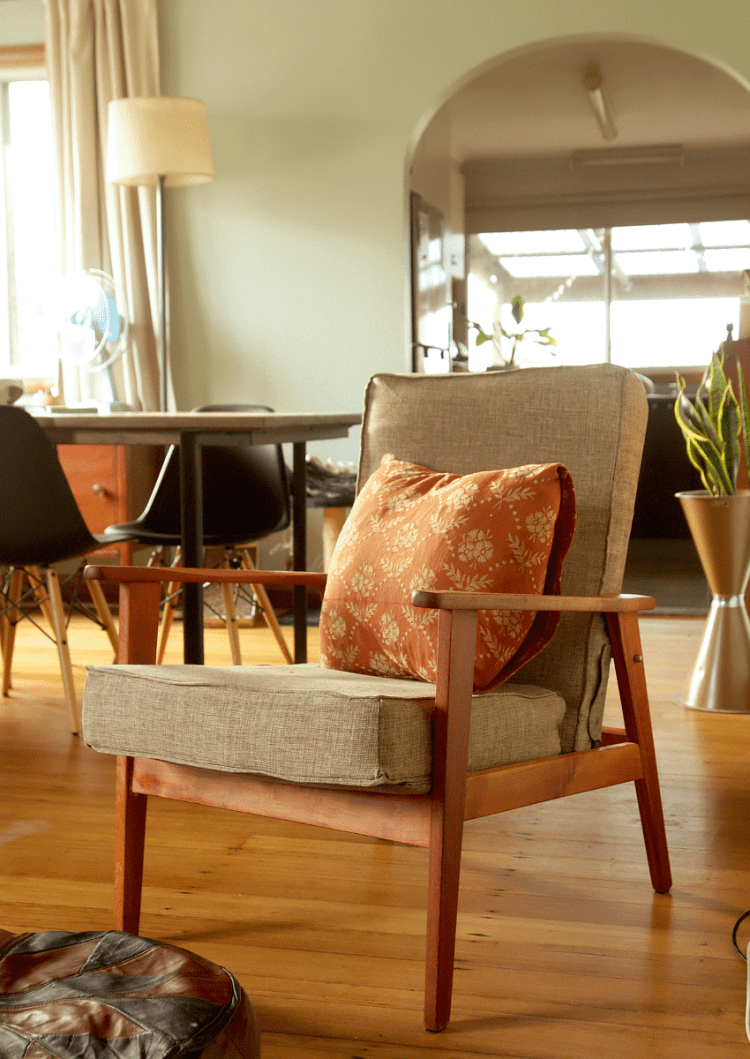 Retro Armchair Restoration | Saltbush Avenue