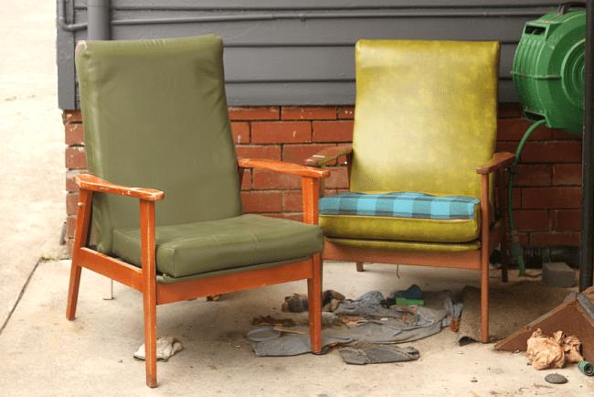 Retro Armchair Restoration   Saltbush Avenue