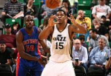 Derrick Favors, Manning his Post; Plus Player Grades for Pistons @ Jazz 3/14/15