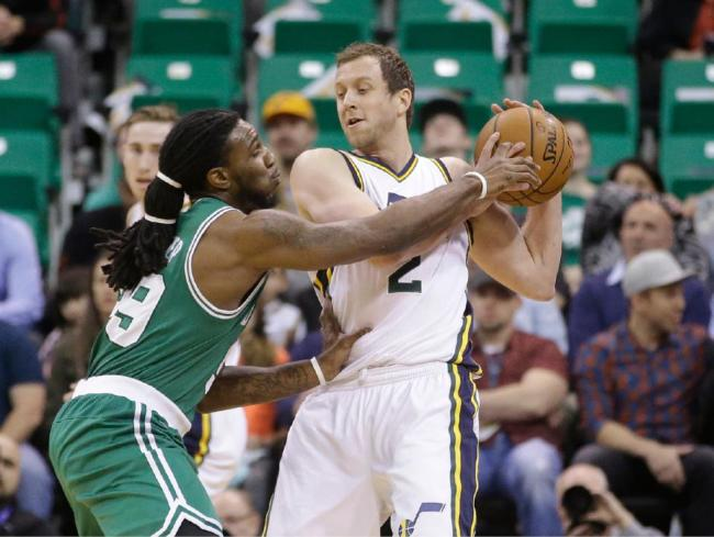 Joe Ingles was a vital cog in the Utah Jazz's success this season. (AP Photo/Rick Bowmer)