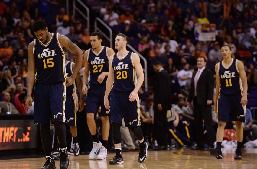 Can the Jazz improve their overall passing game? With a young core of willing and able passers, they hopefully will. (Joe Camporeale-USA TODAY Sports)