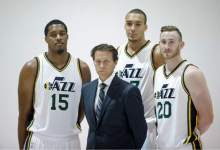 Early Utah Jazz Impressions: The Starters