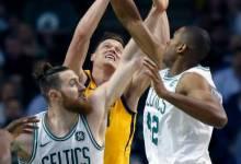 Jazz Upset Celtics 107 – 95 after Losing Starting Front Court