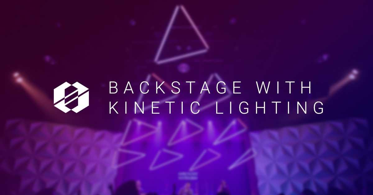 Header for Kinetic Lighting Backstage Series