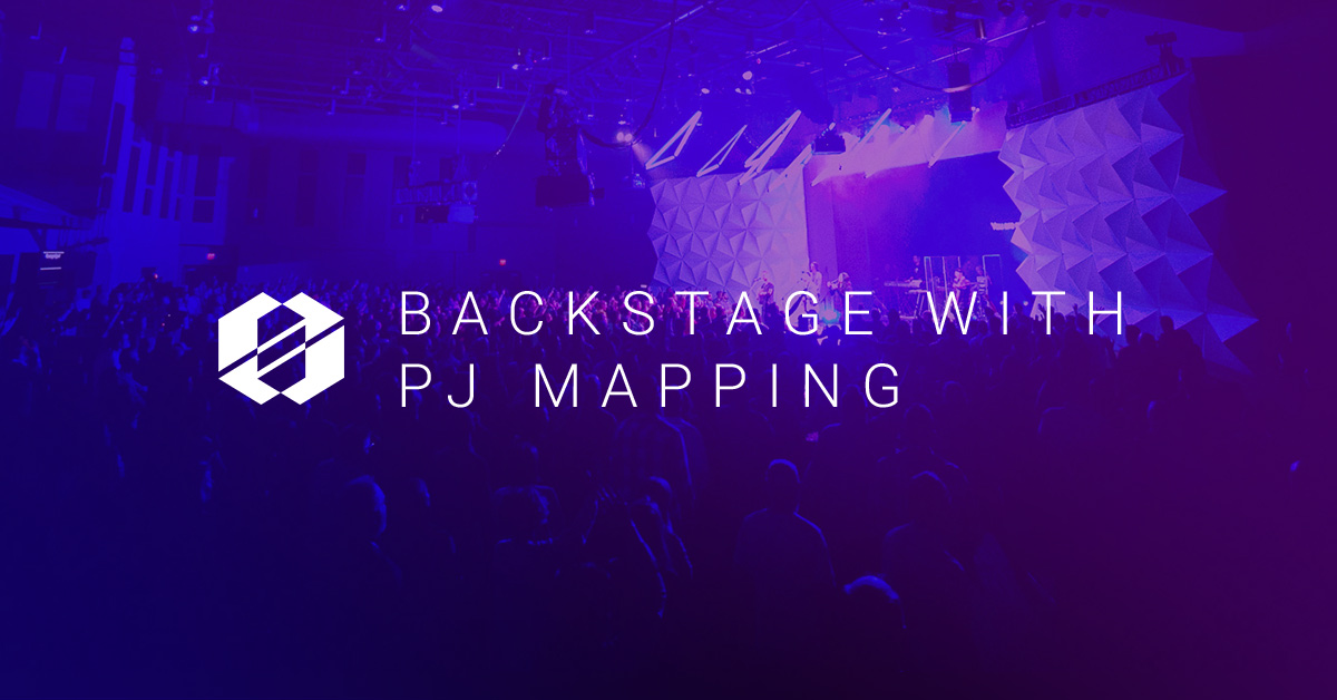 Resolume and Projection Mapping - SALT Backstage