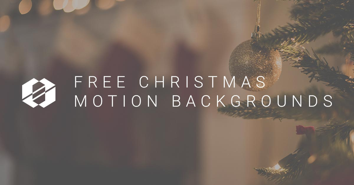 SALT's Christmas Motion Background Free Roundup