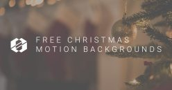 Free Christmas Motion Backgrounds
