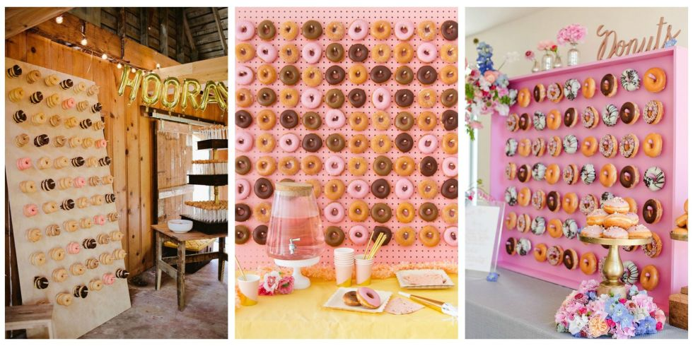 Appreciating Volunteers - Donut Walls and Catered Meals