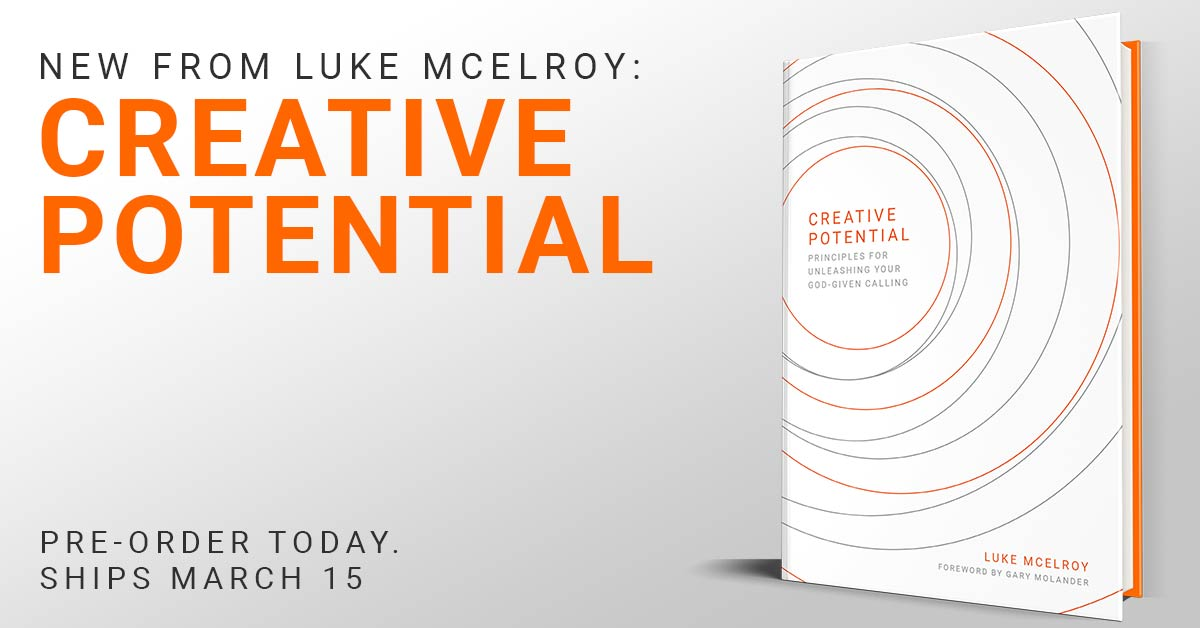 Pre Order Creative Potential from Luke McElroy Today!