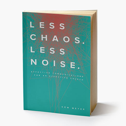 Book: More Chaos Less Noise