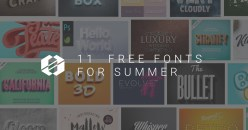 Best 11 Free Summer Fonts 2018