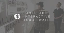 Backstage: Interactive Touch Wall