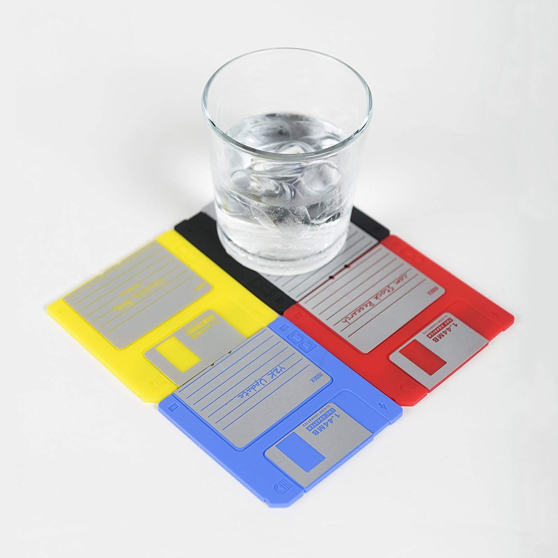 Floppy Disk Coaster - Creative Christmas Gift