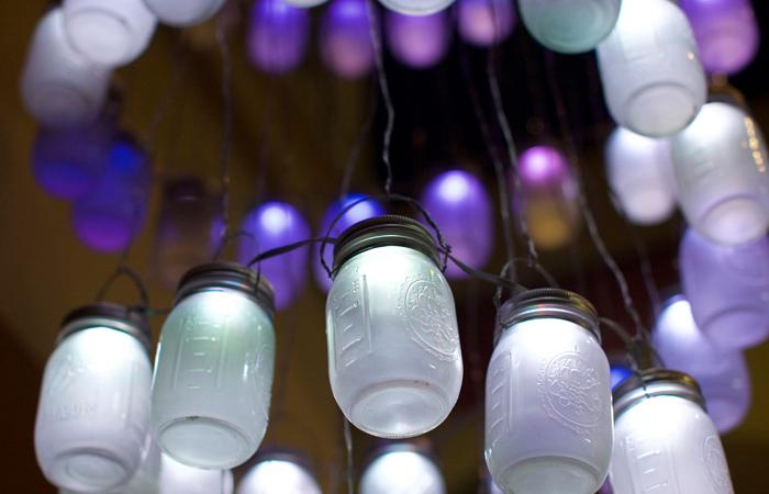 Mason Jar LED Lights and Creativity at SALT Conference