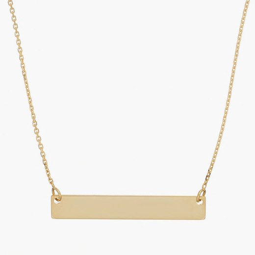 SALT Bar Necklace – Gold