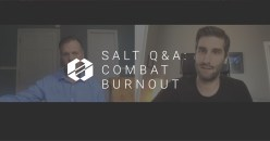 SALT Q&A:  6 Tips to Combat Burnout