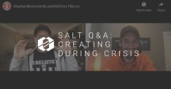 SALT Q&A:  Creating During Crisis