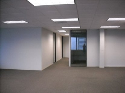 Office space was large and undefined.
